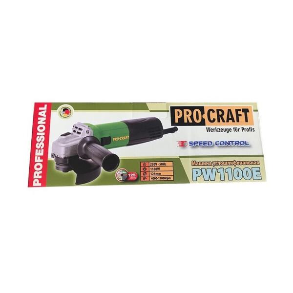 Болгарка Procraft PW1100E