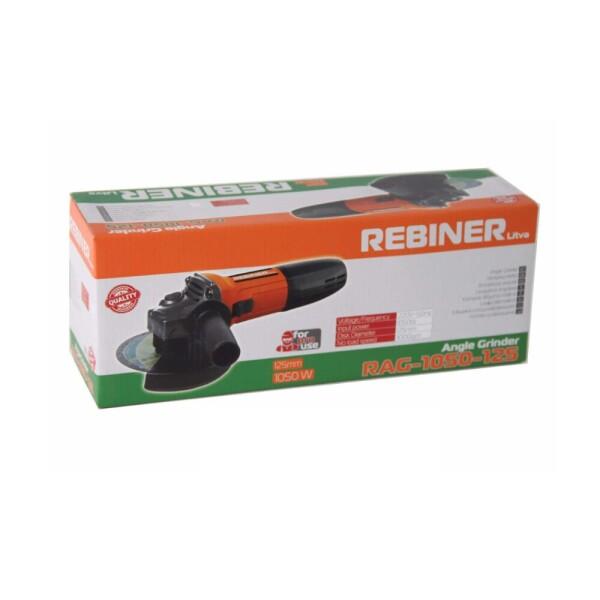 Болгарка Rebiner RAG-1050-125