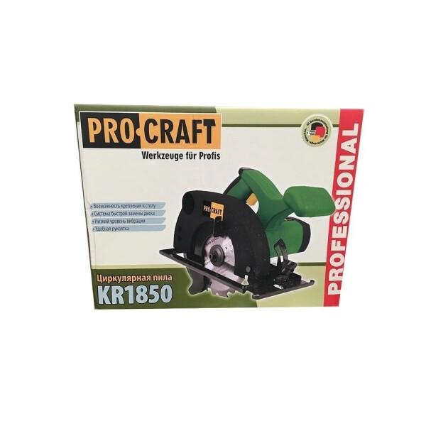Дисковая пила Procraft KR1850