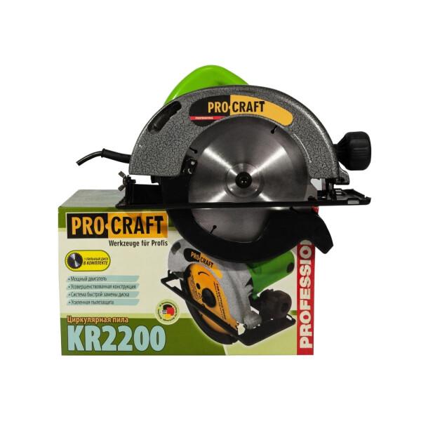 Дисковая пила Procraft KR2200