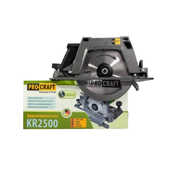Дисковая пила Procraft KR2500