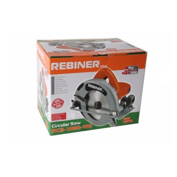 Дисковая пила Rebiner RCS-1950-185