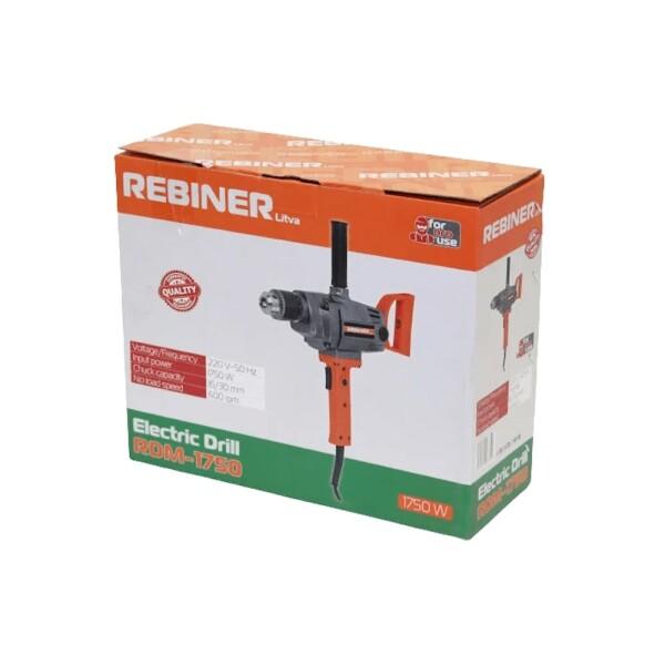 Дрель-миксер Rebiner RDM-1750