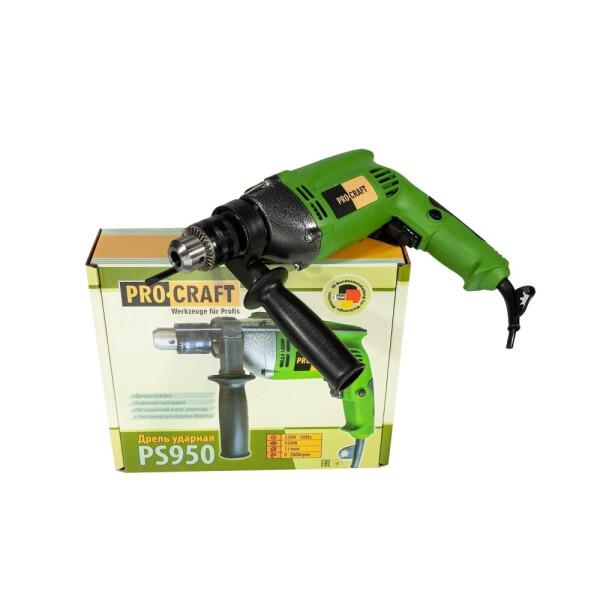 Дрель ударная Procraft PS950