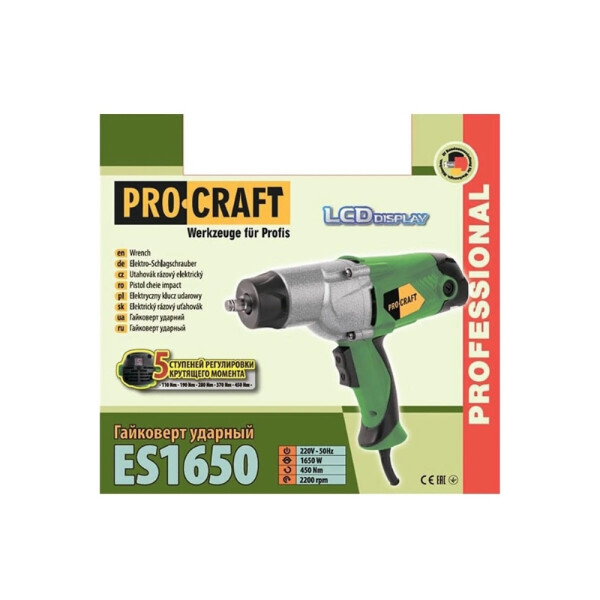 Гайковерт Procraft ES1650