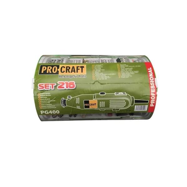 Гравер Procraft PG400 (216 насадок)