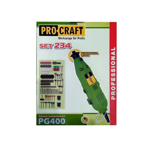 Гравер Procraft PG400 (234 насадки)