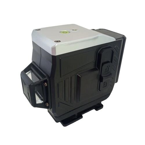 Лазерный уровень Hemuyou 3D 12 линий (зеленый луч)