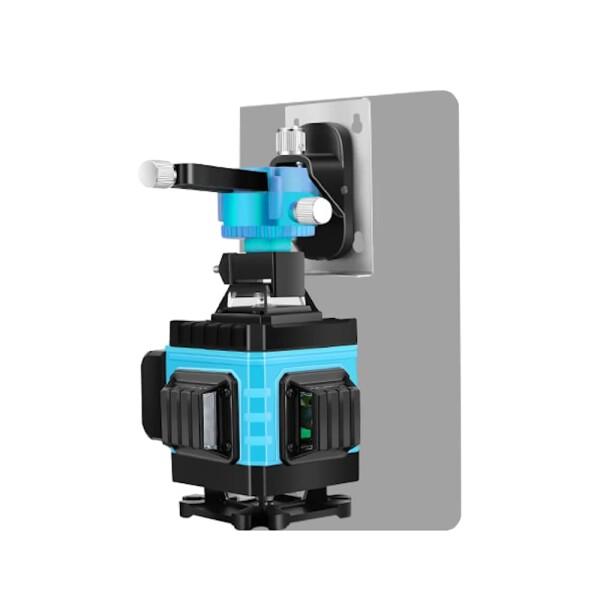 Лазерный уровень Hemuyou 4D 16 линий (зеленый луч)