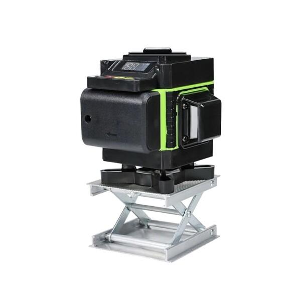 Лазерный уровень Hilda 3D 12 линий (зеленый луч) NEW 2021