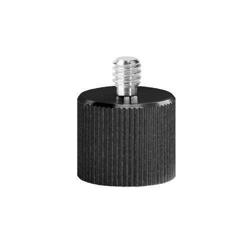 Переходник Deko с резьбы 5/8 на 1/4 дюйма для лазерного уровня (пластиковый адаптер)