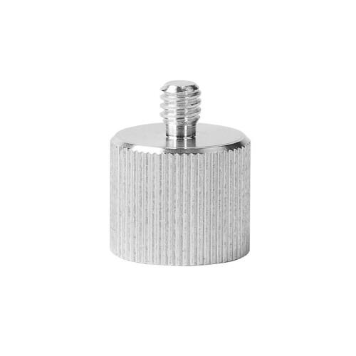Переходник Deko с резьбы 5/8 на 1/4 дюйма для лазерного уровня (адаптер)