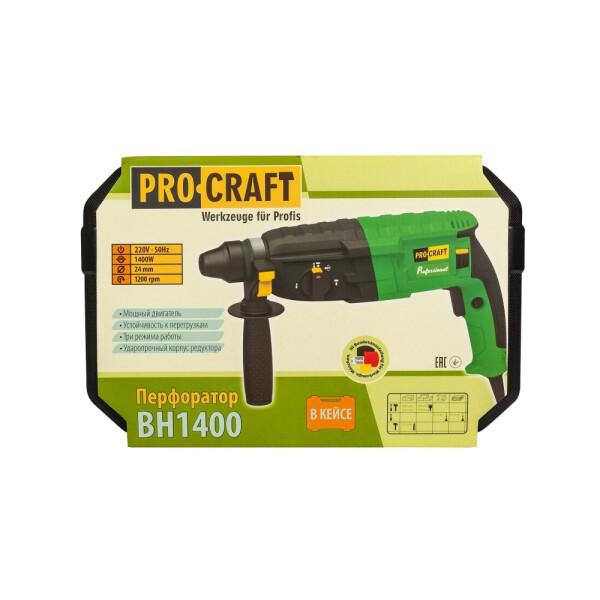 Перфоратор Procraft BH1400