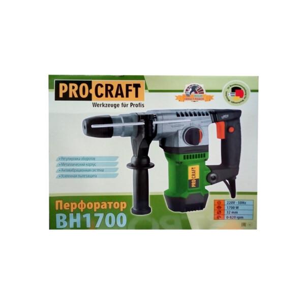 Перфоратор Procraft BH1700