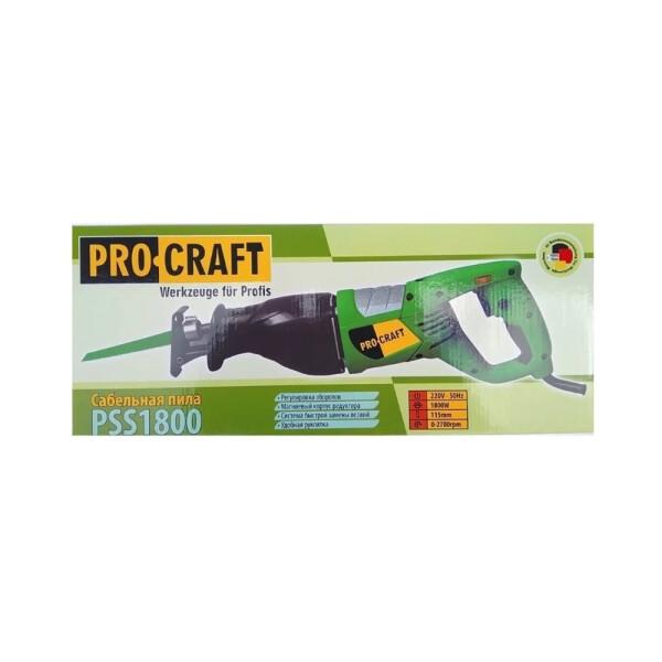 Сабельная пила Procraft PSS1800