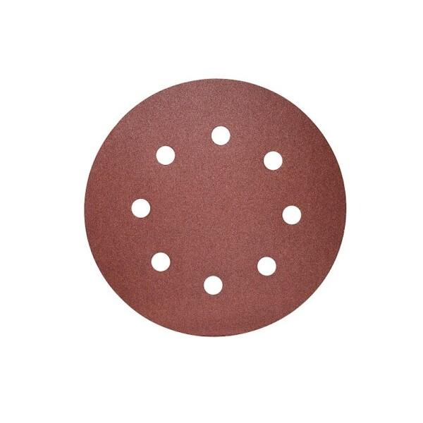 Шлифовальный круг с отверстиями 125 мм