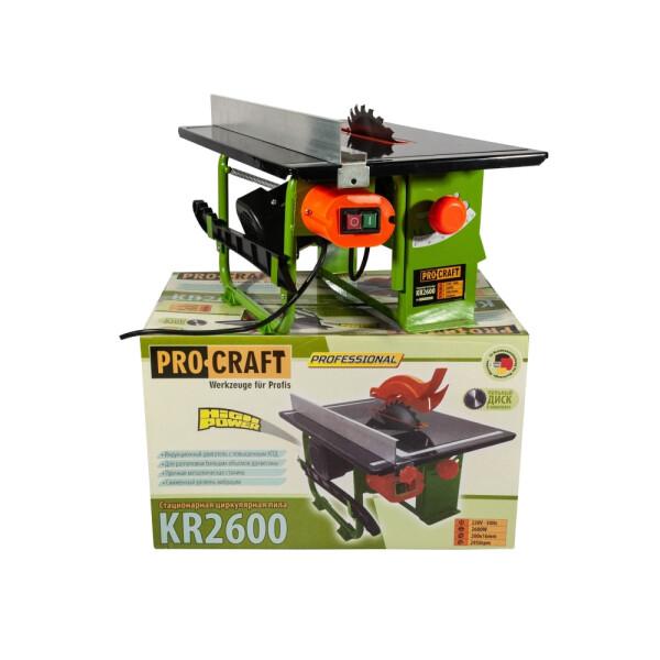 Стационарная циркулярная пила Procraft KR2600