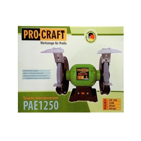 Точильный станок Procraft PAE1250