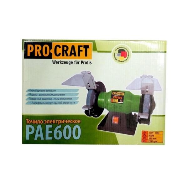 Точильный станок Procraft PAE600
