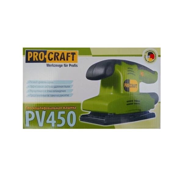 Вибрационная шлифмашина Procraft PV450