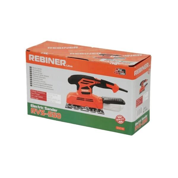 Вибрационная шлифмашина Rebiner RVS-550